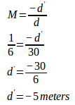 Convex mirror - problems and solutions 2