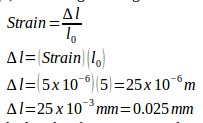Stress, strain, Young's modulus sample problems with solutions 10