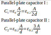 Parallel-plate capacitor – problems and solutions 16