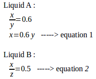 Density and floating in equilibrium – problems and solutions 2