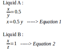 Density and floating in equilibrium – problems and solutions 5