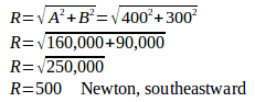 Vector problems and solutions 4