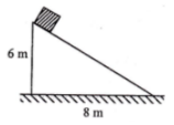Work-energy principle, nonconservative force, motion on inclined plane with friction - problems and solutions 1