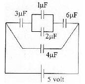 Electric energy in capacitor circuits – problems and solutions 1