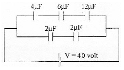 Electric energy in capacitor circuits – problems and solutions 2