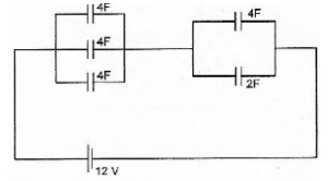 Electric energy in capacitor circuits – problems and solutions 3