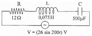 LRC Series AC Circuit – problems and solutions 1