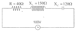 LRC Series AC Circuit – problems and solutions 7