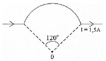 Magnetic field at the center of an arc of current - problems and solutions 1