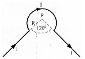Magnetic field at the center of an arc of current - problems and solutions 7