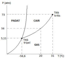 Changes of phase, critical temperature, triple point 7