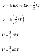 Internal energy of an ideal gases 1