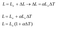 Linear expansion 3