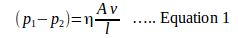 Poiseuille's equation 3