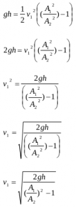 The application of Bernoulli's principles and Bernoulli's equations 13