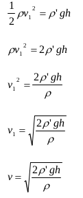 The application of Bernoulli's principles and Bernoulli's equations 16