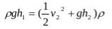 The application of Bernoulli's principles and Bernoulli's equations 3