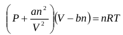 Van der Waals Equation of State 1