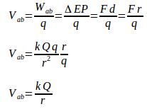 Electric potential 5