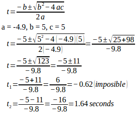 Projectile motion 16